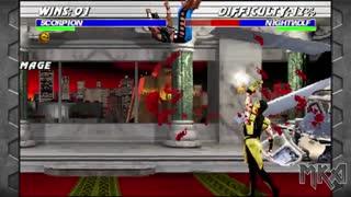 6 دقیقه گیم پلی بازی نهایی مورتال کمبت Ultimate Mortal Kombat 3 Remake بازسازی شده برای کامپیوتر_با کیفیت 4KHD
