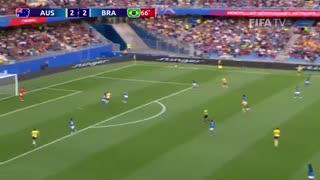 جام جهانی فوتبال زنان: استرالیا ۳ برزیل ۲