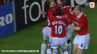 بایرن مونیخ 1-2 منچستریونایتد (فینال لیگ قهرمانان اروپا فصل 1998/99)