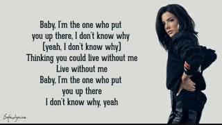 Without Me - Halsey (Lyrics