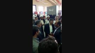 افتتاحیه دوازدهمین نمایشگاه ملی رسانه های دیجیتال با حضور وزیر فرهنگ و ارشاد اسلامی