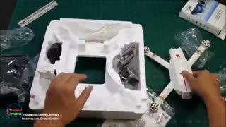 جعبه گشایی کوادکوپتر دوربین دار Mjx Bugs 3 Pro دارای GPS/ایستگاه پرواز