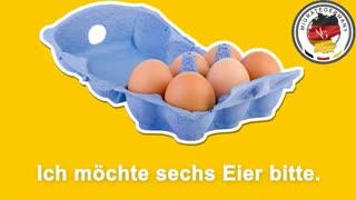خرید مواد غذایی در آلمان - آموزش زبان آلمانی
