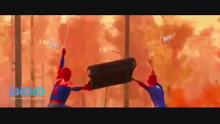 انیمیشن  spider man 2018