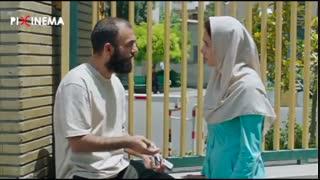 فیلم تابستان داغ ، ملاقات فرهاد و نسرین (پریناز ایزدیار) در جلوی بیمارستان