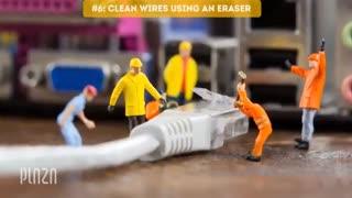 8 ترفند عالی برای تمیز کردن گوشی موبایل که کسی نمی داند - پلازامگ