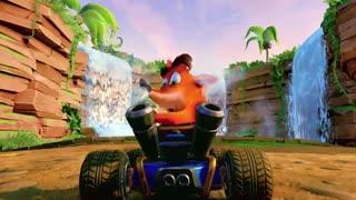 تریلر بازی Crash Team Racing Nitro-Fueled برای PS4