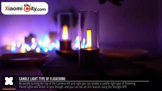 جعبه گشایی چراغ خواب هوشمند Candela شیائومی مدل YLFW01YL