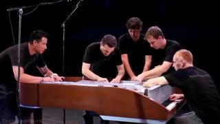 What Makes You Beautiful - 5 Piano Guys, 1 piano