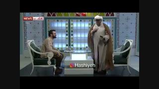 قهر کردن روحانی در برنامه زنده